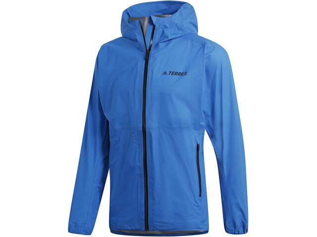 adidas TERREX Agravic 3-Layers Jacket Men Shock Blue